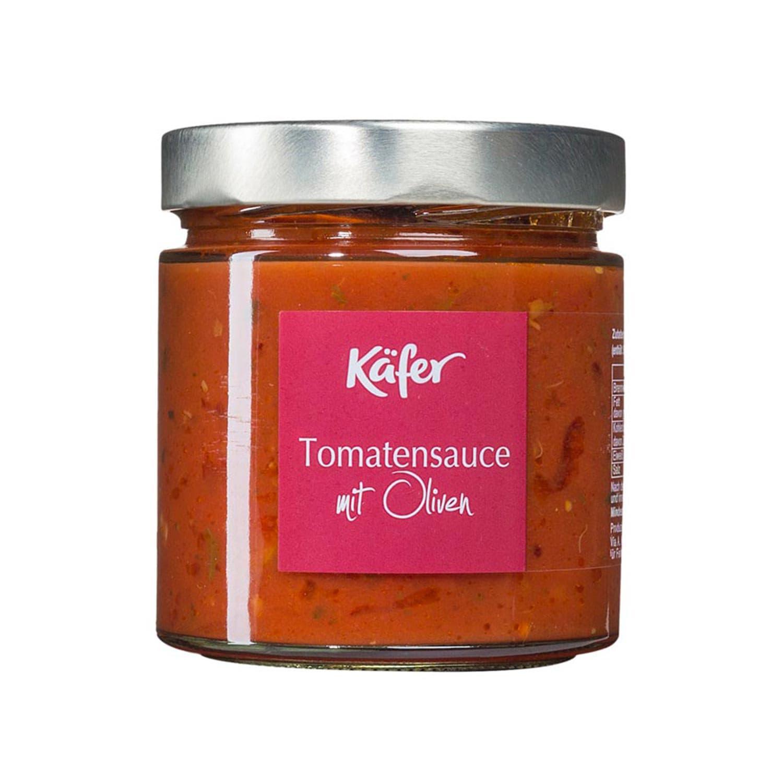 Feinkost Käfer Tomatensauce mit Oliven 390ml