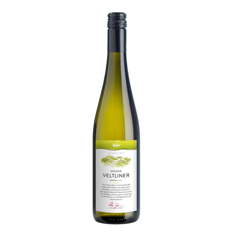 Feinkost Käfer Selektion 2015 Grüner Veltliner Niederösterreich Weißwein 0.75l