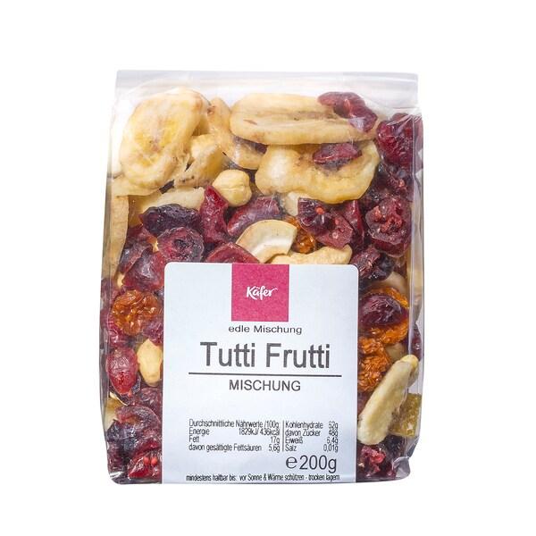 Feinkost Käfer Tutti Frutti Mischung Nuss-Mischung 200g