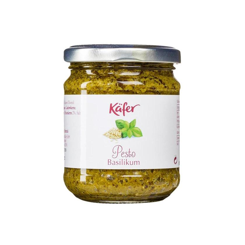 Feinkost Käfer, Pesto Basilikum, Pesto, 180 g