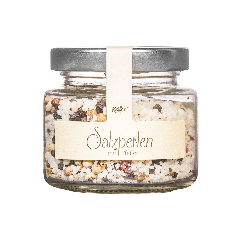 Feinkost Käfer Salzperlen mit Pfeffer 70g