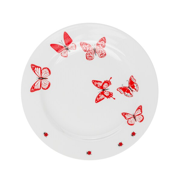 Feinkost Käfer Mustermix Speiseteller Schmetterling Ø 28cm