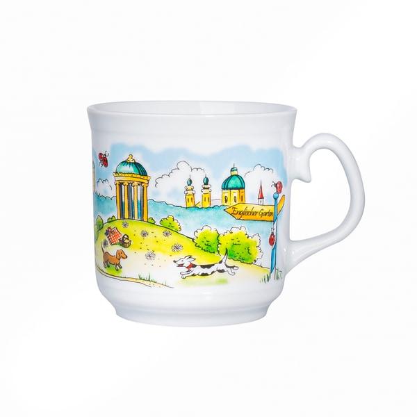 Feinkost Käfer Haferl Englischer Garten Kaffeetasse 0.35l