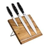 Karcher Messerblock Akazie inkl. drei Messer