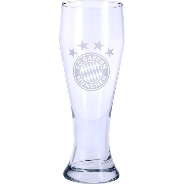 FC Bayern München Bierglas Logo 0,5 Liter