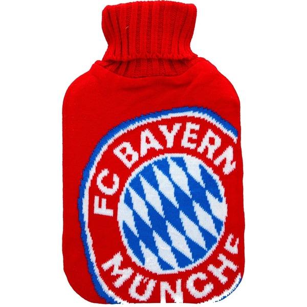 FC Bayern München Wärmeflasche Logo, 32x20cm