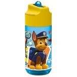 Paw Patrol Trinkflasche mit Strohhalm