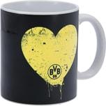 BVB Borussia Dortmund Tasse Für den besten Papa, 0,3L