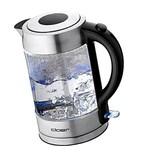 Cloer Wasserkocher aus Glas 1,7 Liter 2200 Watt