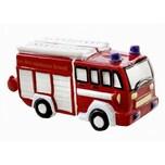 "Spardose ""Feuerwehrauto"", 22x10cm"