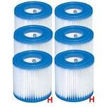 INTEX Ersatz-Filterkartusche Typ H, 6er