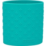 SIGG Hot&Cold Glas WMB Silikon Grip Aqua 0,4 Liter