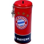 FC Bayern München Spardose Metall 14 x 8 x 7,5 cm