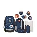 Ergobag 6-tlg. Schulrucksackset Galaxy Glow Edition Pack 20 l