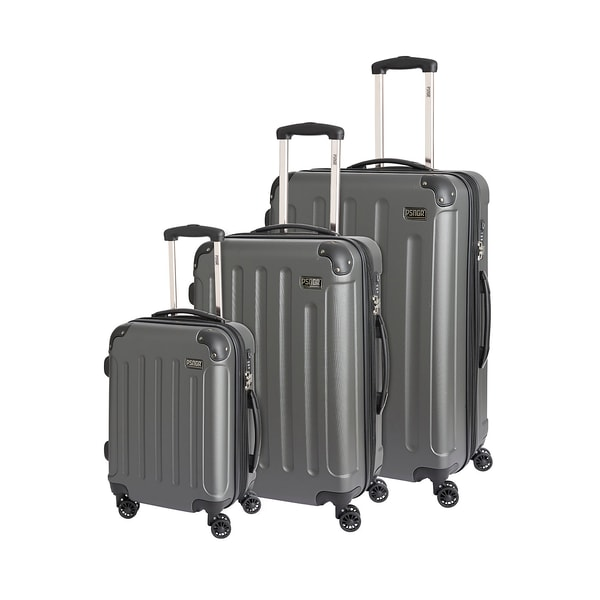 PSNGR Seattle Trolleyset anthrazit 55/68/76cm EXP XS/L/XL 236l 3-teilig