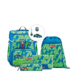 Step by Step 5-tlg. Schulranzenset Limited Edition Space Neon 20 l