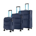 Assima 3-tlg. Trolleyset 52/64/75 cm EXP Loubs Adelaide Neo 198 l