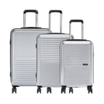Assima 3-tlg. Trolleyset Loubs XXL Hardbox 197 l
