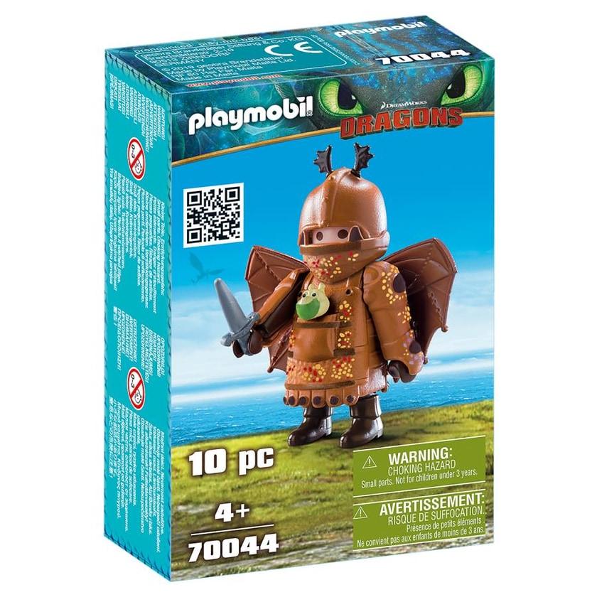 Playmobil 70044 Fischbein mit Fluganzug Dragons Drachen Spielzeug-Figur Wikinger