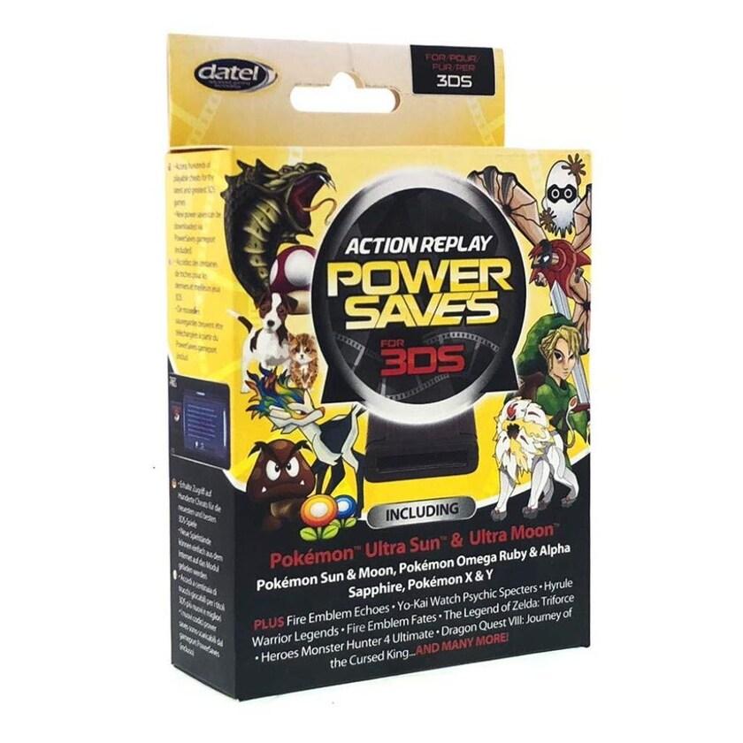 Datel Action Replay Power-Saves Cheat-Modul Adapter für Nintendo 3DS 2DS Spiele