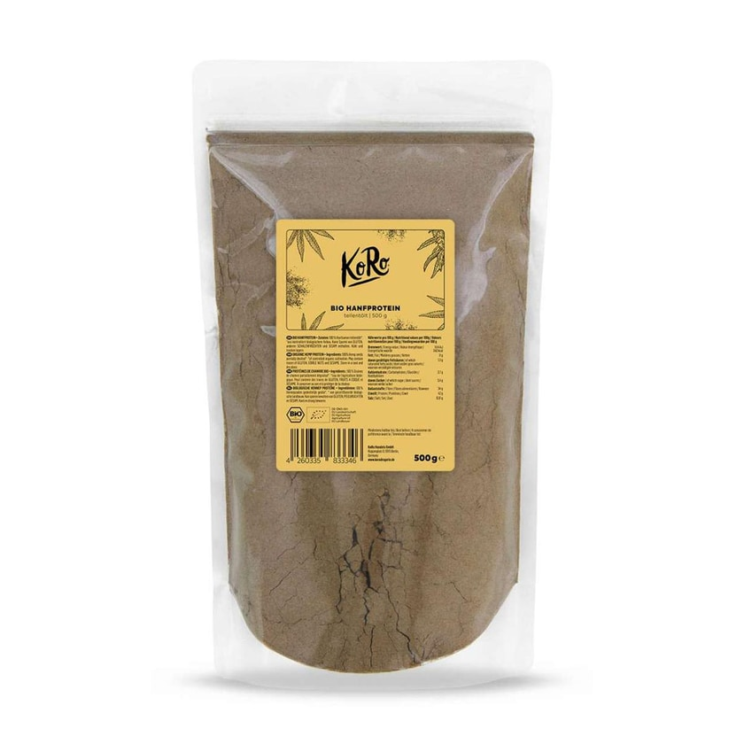 KoRo Bio Hanfprotein 500 g