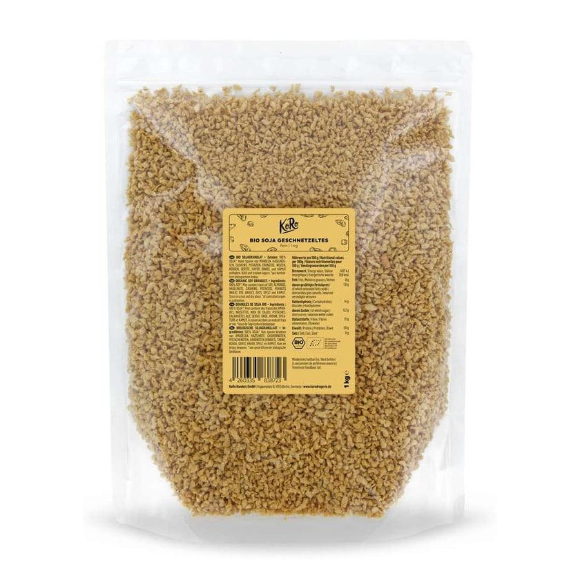 KoRo Bio Soja Geschnetzeltes fein 1 kg