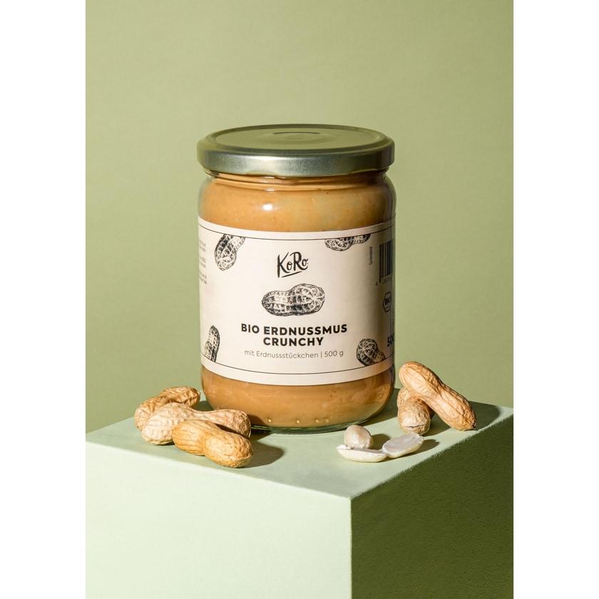 KoRo Bio Crunchy Erdnussmus 500 g