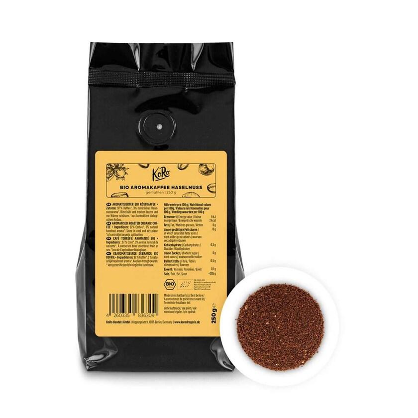 KoRo Bio Kaffee Haselnuss 250 g