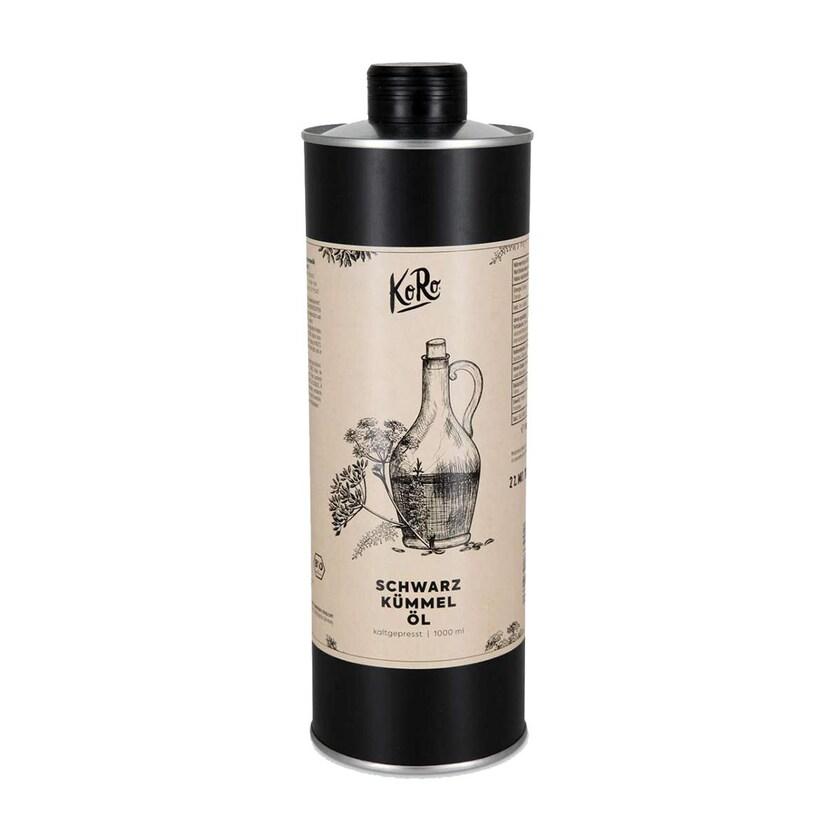 KoRo Bio Schwarzkümmelöl 1 Liter