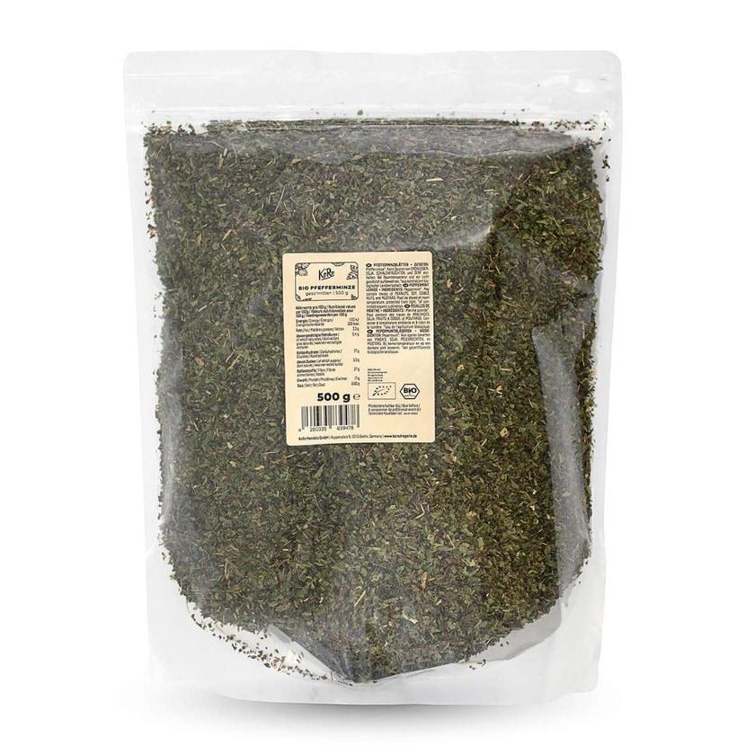KoRo Bio Pfefferminze geschnitten 500 g