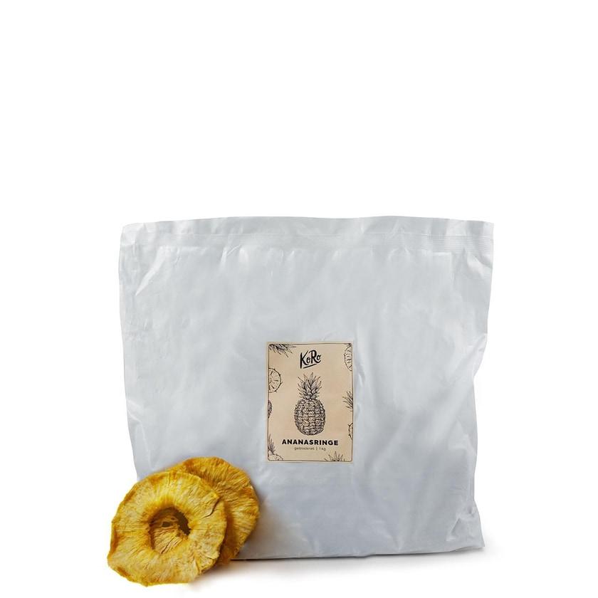 KoRo Ananasringe ohne Zuckerzusatz 1kg