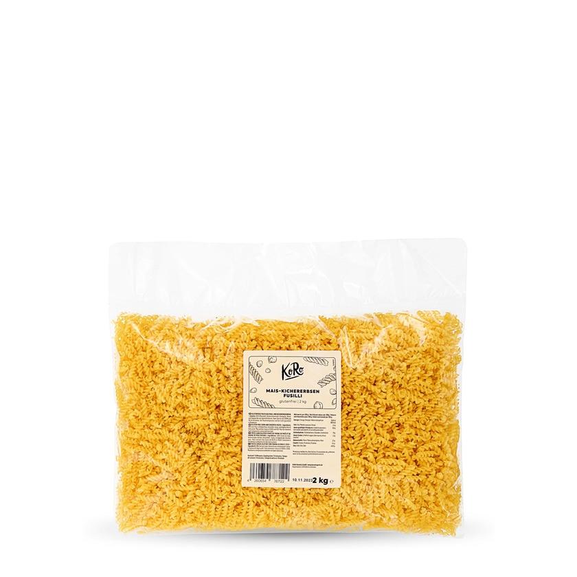 KoRo Mais-Kichererbsen Fusilli 2 kg