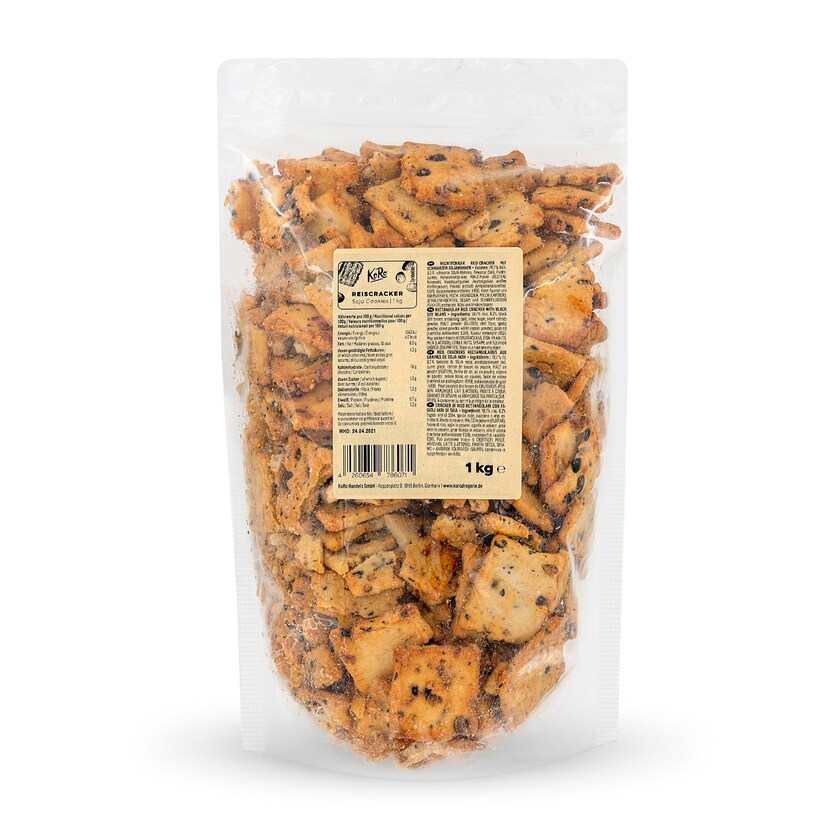 KoRo Reiscracker Soja Cookies 1 kg