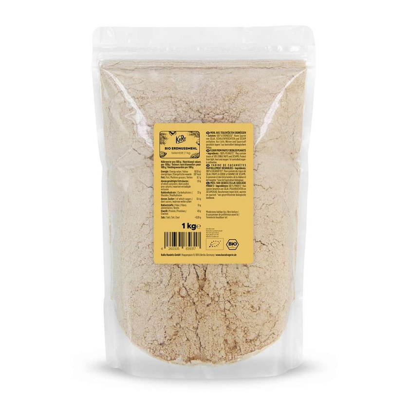 KoRo Bio Erdnussmehl teilentölt 1 kg