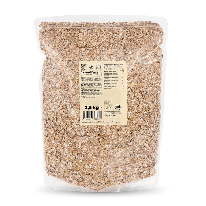 KoRo Bio Emmerflocken Großblatt 2,5 kg