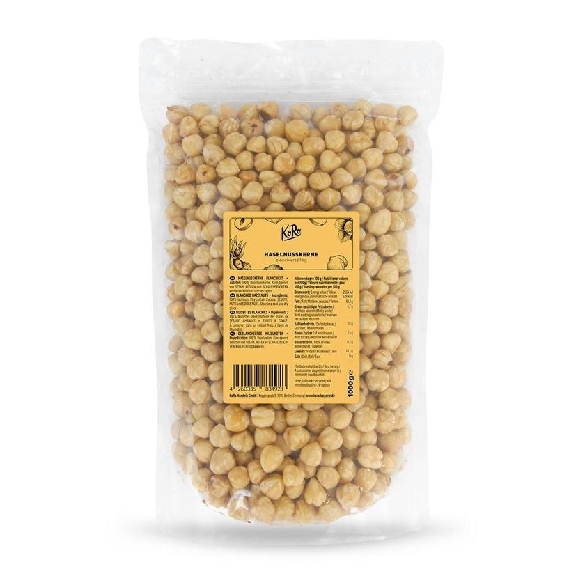 KoRo Haselnusskerne blanchiert 1 kg