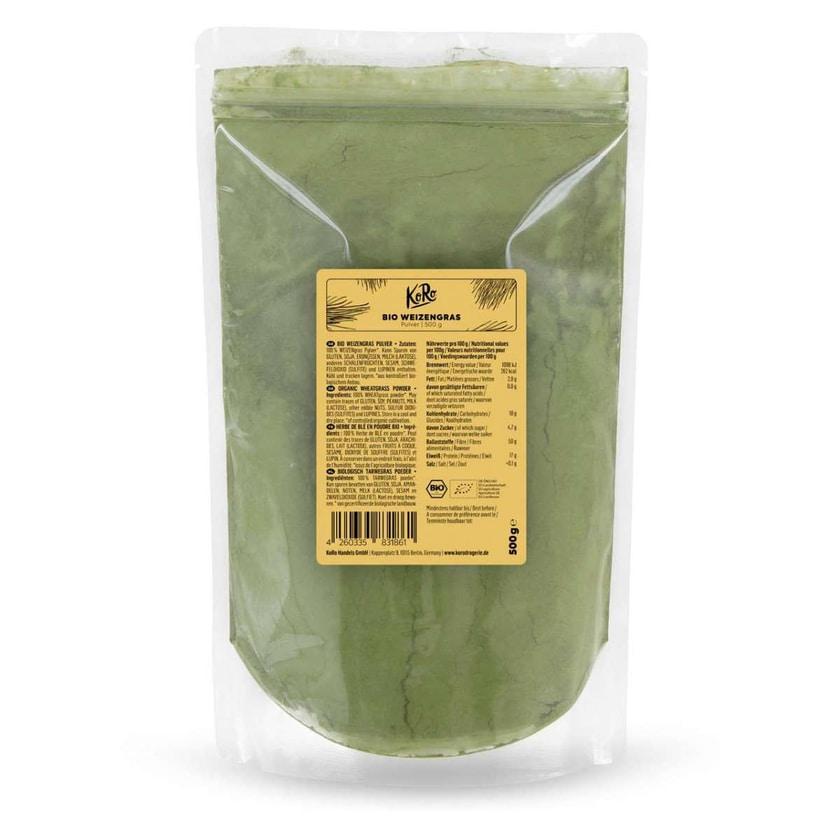 KoRo Bio Weizengras Pulver 500g