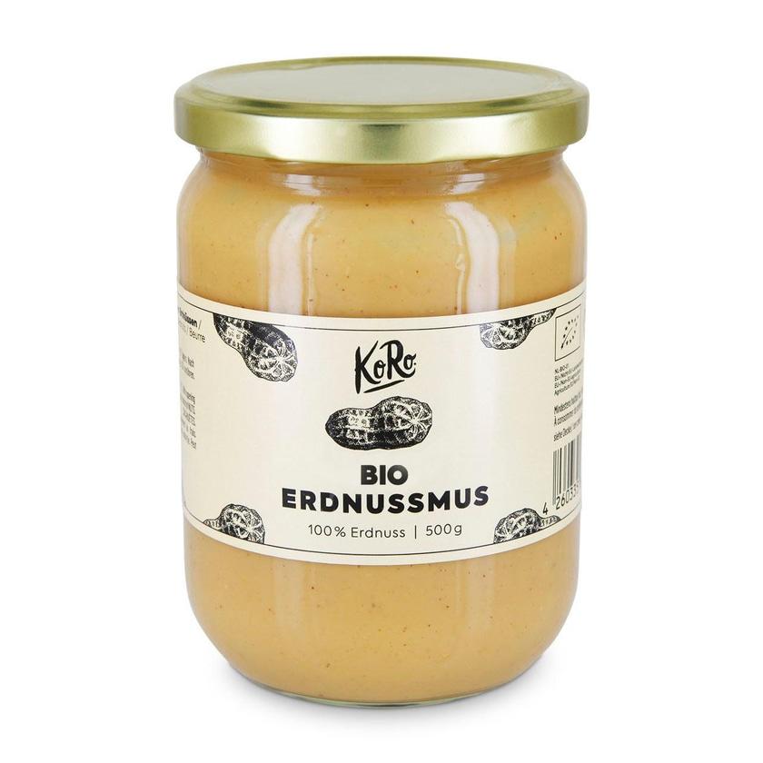 KoRo Bio Erdnussmus 500 g