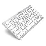 Bluetooth Tastatur Weiß