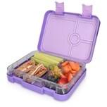 Bento Box, 4 Fächer, violett