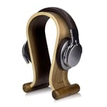 Holz Ständer Universal für Kopfhörer Walnussholz