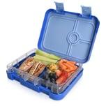 Bento Box, 4 Fächer, dunkelblau