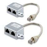 2x T-Adapter Netzwerkkabel