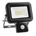 LED Flutlicht 30W mit Halter und Bewegungssensor, schwarz