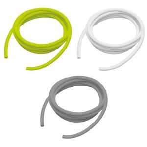 Ecowellness Fitness-Bänder Tube Set 3-tlg. Leicht, mittel, stark, 2m