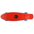 L.A. Sports Mini Cruiser-Board Kinder Skateboard 56cm rot