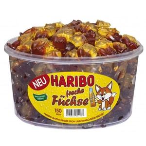 Haribo - Freche Füchse Fruchtgummi Limo Cola Geschmack - 150St/1200g
