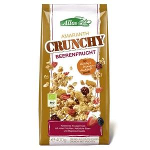 Allos Bio Amaranth Crunchy Beerenfrucht Müsli 400g