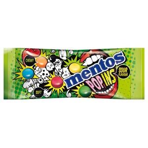 Mentos Popins Sour Flavours Kaubonbons 50g