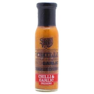 Sussex Valley - Chilli & Garlic Dressing Chili und Knoblauch Salatdressing Marinade - 240g